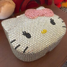 Bling Hello Kitty Crystal Diamond Jewelry, Cosmetic or Storage Box! Best Gift!