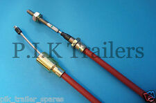 1 x Stainless Steel 1630mm Brake Cable for Knott Ifor Williams Trailer Horse Box