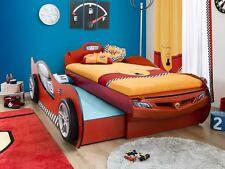 Autobett Coupe Racer mit Gästebett rot von CILEK Kinderbett 90X190 90X180