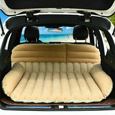 SUV Inflatable Mattress Travel Car Back Seat Air Bed Durable Camping with Pump