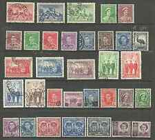 AUSTRALIA  MINT AND MOSTLY USED COLLECTION OF 54 STAMPS INC EARLY ROOS & HEADS