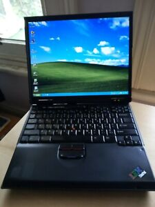 """Classic IBM ThinkPad T23 14""""  laptop, excellent operating and cosmetic condition"""