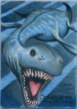 Perna Studios Creatures of Myth & Legend Loch Ness Monster sketch by Cezar Razek