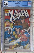 X-MEN #4 1992 NEWSSTAND CGC 9.6 NM+ WHITE PAGES 1ST OMEGA HOT KEY MARVEL COMICS