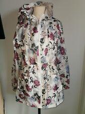 Ladies Floral Warehouse Raincoat Size M UK Size 12