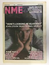 NEW MUSICAL EXPRESS NME MAGAZINE  8 FEBRUARY 1986  PUNK PART 2   LS