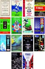 More details for liverpool fa cup final programme cover fridge magnets 70mm x 45mm
