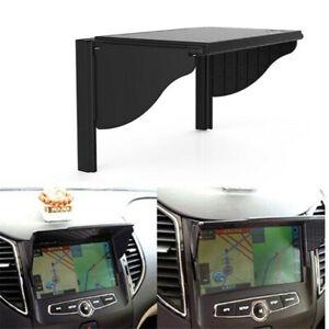 Black 6-10in Car GPS Navigator Sun Shade Sunshield Visor Anti Glare Accessories