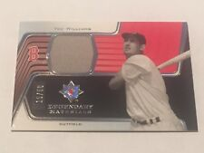 Ted Williams 2004 Upper Deck Ultimate Legendary Materials Jersey #15/50 Red Sox