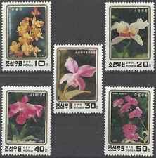 Timbres Flore Corée 2448/52 ** lot 18720