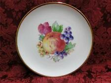 """NC Western Germany, Fruits, Gold Trim: Salad Plate (s) 8"""""""