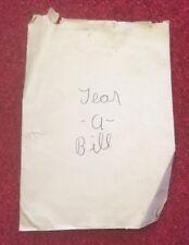 Vintage Berland's Tear-A-Bill Magic Trick
