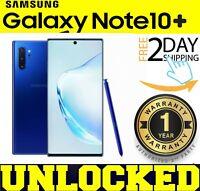 Samsung Galaxy NOTE 10 PLUS AURA BLUE N975U1 256GB (FACTORY UNLOCKED) ❖SEALED❖W