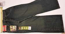 Boys WRANGLER pants jeans HUSKY 10 X 24 100% Cotton Denim Boot Loose