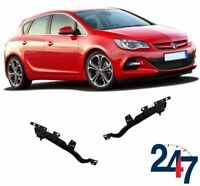 FRONT BUMPER BRACKET MOUNT GUIDE SET COMPATIBLE WITH OPEL VAUXHALL ASTRA J 09-15