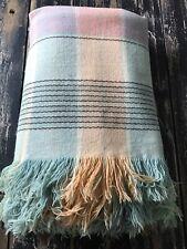 vintage wool blanket Style Welsh