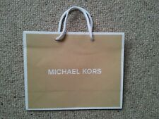 MICHAEL KORS CAMEL MAT PAPER BAG small size