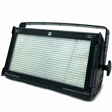 EFFETTI LUCE DMX DJ DISCO STROBO 800LED 3000W WASH MATRIX BLINDER WHITE