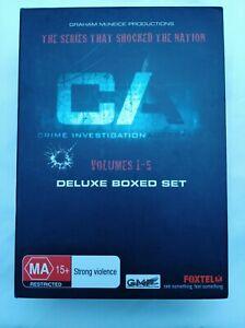 CIA Crime Investigation Australia DVD Volume 1-5 box set New and Sealed Region 4