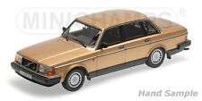 wonderful modelcar VOLVO 240 GL SALOON 1986 - goldmetallic - 1/18 - lim.300
