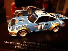 1/43 rally Porsche 911 SC Nicolas Monte Carlo Rallye 1978 Universal Hobbies