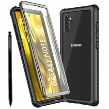 Samsung Galaxy Note 10+ Plus Case, 6.8inch 360° Full Body Protective Shockproof