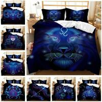 3D Print Bed Duvet Cover Sets with Pillow Cases Bedding Set for Kids Teens Sheet