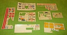 MPC Decal Sheet Lot Vintage Collectible Super Cat Wood Chopper Gasser Eliminator