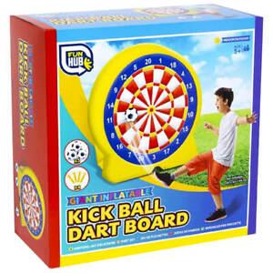 Giant Inflatable Kick Ball Football Dart Board Garden Party Game R05 1096