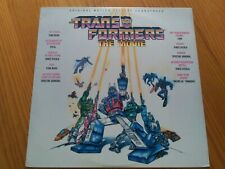 The Transformers The Movie - Original US soundtrack - 1986