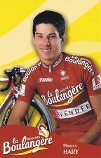 CYCLISME carte cycliste MARYAN HARY équipe LA BOULANGERE 2003
