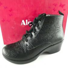 Alegria Women's Eliza Ankle Black Leather Boot Sz 7-7.5 / 37  ̶$̶1̶4̶9̶