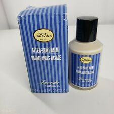 The Art of Shaving Lavender After Shave Balm 3.3 Oz 100ml Damaged Box