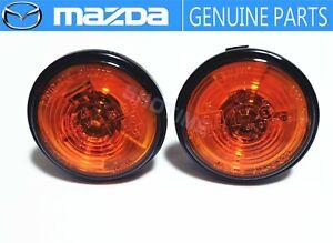 MAZDA GENUINE  Roadster MX-5 Miata NB6/8 Fender Side Turn Marker Lamp Light Set