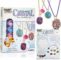 KreativeKraft Jewellery Making Kit Arts and Crafts Science Kits for Kids Girls T
