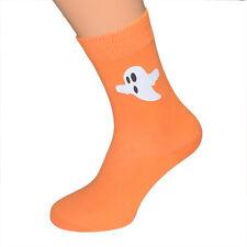 Halloween Creepy Glow in the Dark Ghost Socks Mens UK 6-12 - X6N229