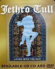 Jethro Tull 2001 living with the past promotional poster Flawless New old stock
