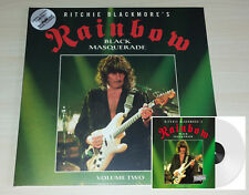 LP RAINBOW - ROCKPALAST 1995 - BLACK MASQUERADE VOL 2 - CLEAR VINYL