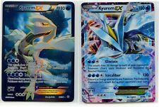 Kyurem EX 86/98 Full Art Holo + Kyurem EX 25/98 Holo Rare Ancient Origins NM