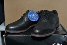 Mens Callaway Del Mar Monterey Brogue Golf Shoes Size UK 8.5 Brand New In Box