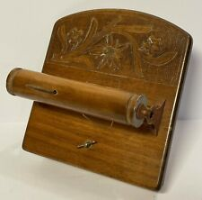 Swiss Music Box Wood Toilet Paper Holder Weggiserlied Der Fruling ist uf D'berg