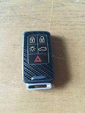 Carbon Schwarz Folie Dekor Cover Schlüssel Volvo D5 S80 XC60 XC70 V70 5 Tasten