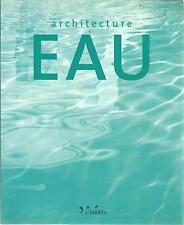 TAGLIAFERI ARCHITECTURE EAU + PARIS POSTER GUIDE