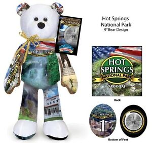 Hot Springs Arkansas National Park coin bear #1 in current series of 16