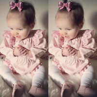 Newborn Toddler Kids Baby Girl Clothes Jumpsuit Romper Bodysuit Playsuit Outfits