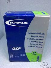 """Schwalbe AV9A Schrader Tube - 24"""" Bike Inner Tube 20-540 to 28-541 NEW"""
