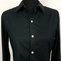 Ralph Lauren Womens Shirt Top Size 10 Long Sleeve Black Regular Fit  Cotton