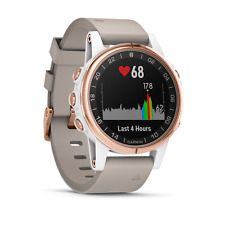 Garmin D2 Delta S - White Rose Gold with White Band - GPS