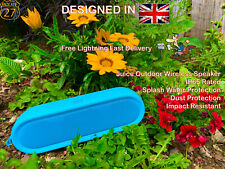 Juice Boom Extreme Outdoor Speakers Garden Bluetooth Wireless Speaker ~8h Play