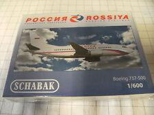 Schabak 1:600 3551586 Boeing 737-500  Rossiya NEU OVP